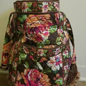 Vera Bradley large bag floral print- beautiful!!